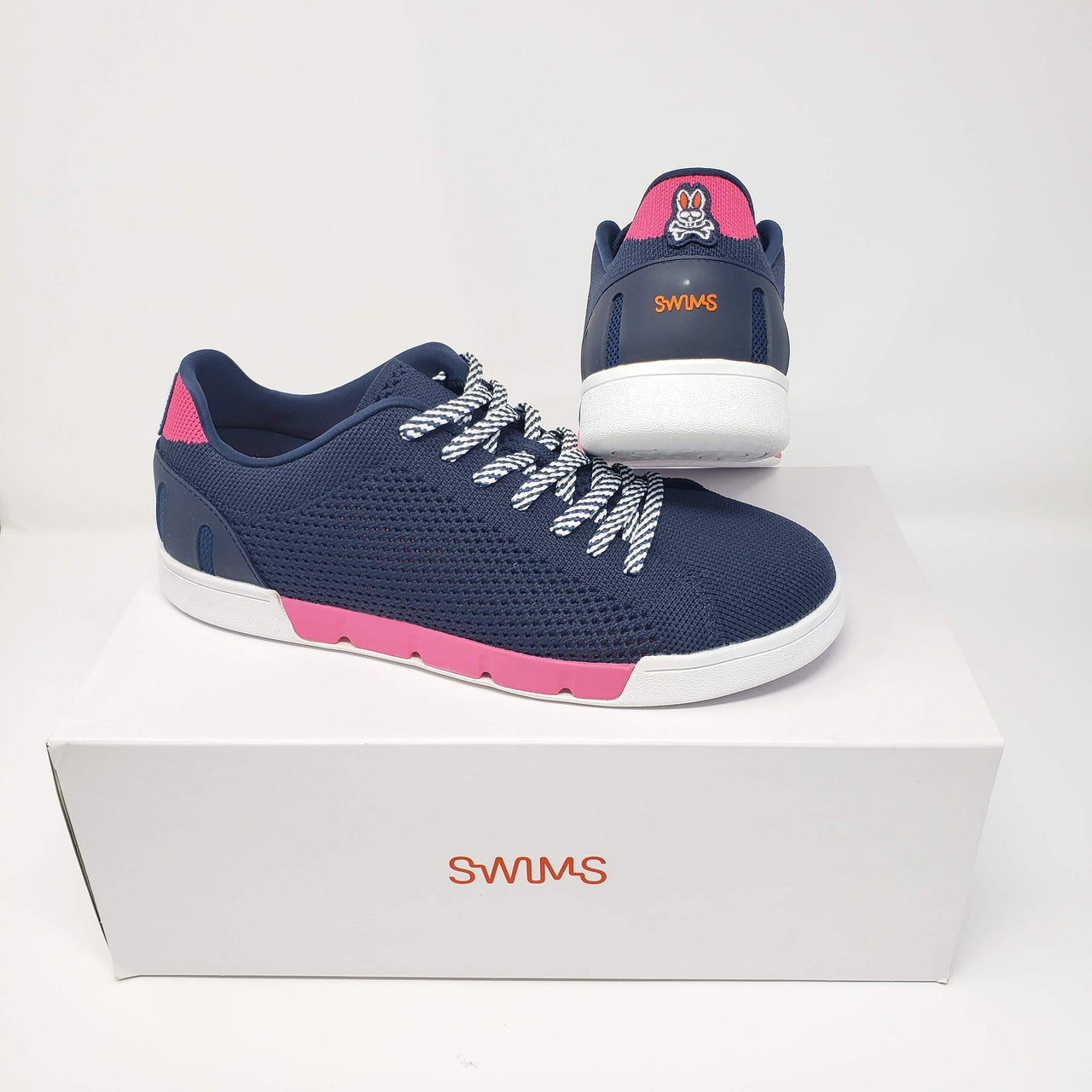 Psycho Bunny x SWIMS Breeze Tennis Knit - Navy