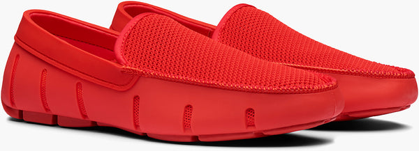 SWIMS Knit Venetian Loafer - Red Alert