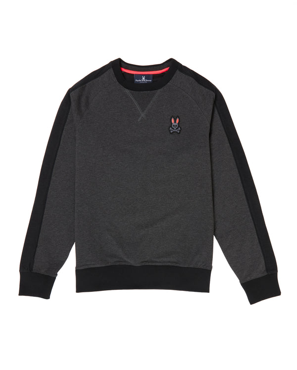 Psycho Bunny Men's Masson Sweatshirt - Heather Antracite