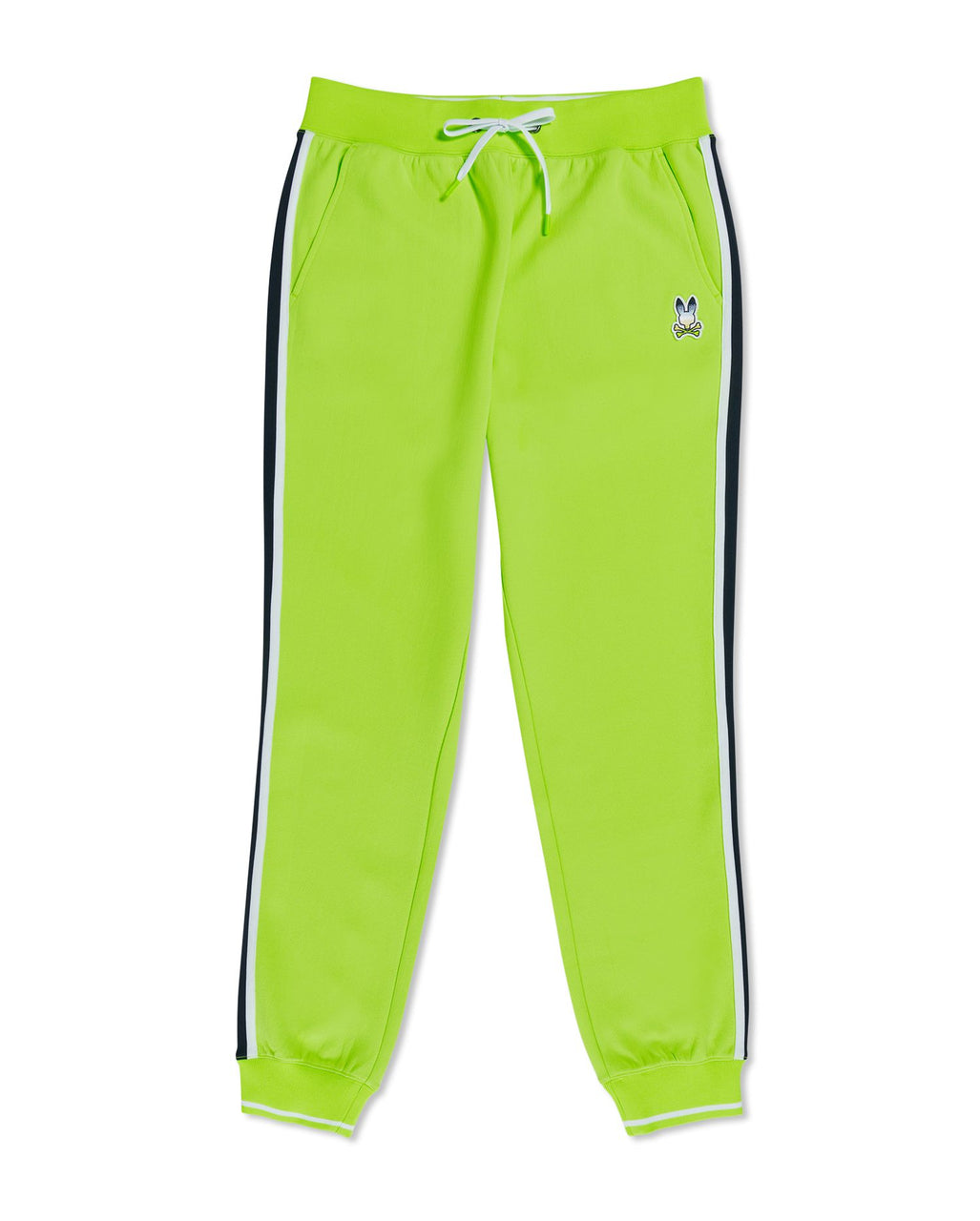 Psycho Bunny Men's Clifton Track Pants - Electric Lime