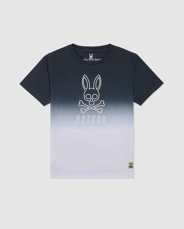 Psycho Bunny Boy's Fairbanks Graphic Tee - Navy