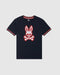 Psycho Bunny Boy's Hatton Graphic Tee - Navy