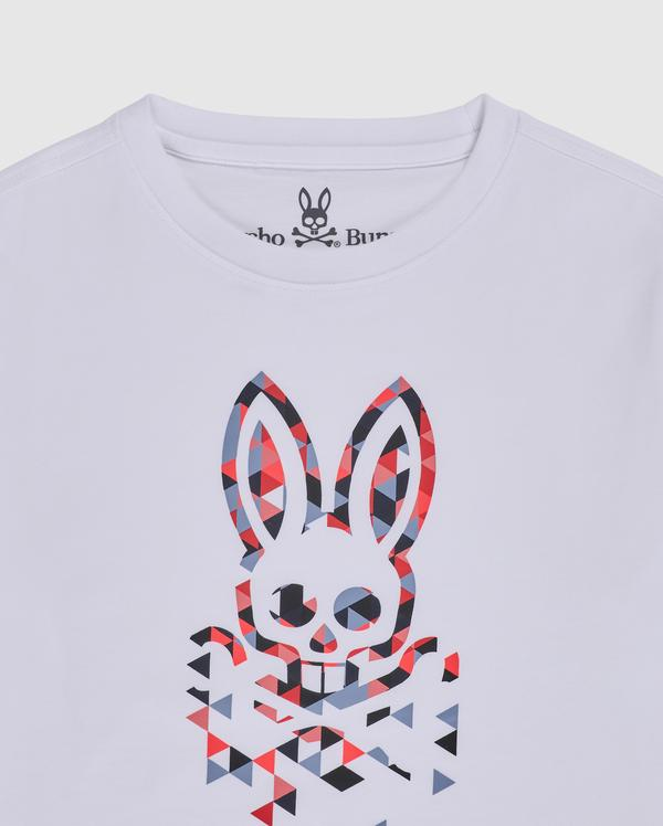 Psycho Bunny Boy's Alexander Graphic Tee - White