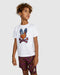 Psycho Bunny Boy's Hassop Graphic Tee - White
