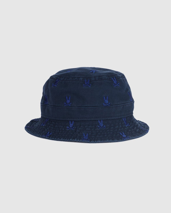 Psycho Bunny Men's Bucket Hat - Navy