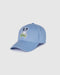 Psycho Bunny Men's Clifton Baseball Cap - Lapis Blue