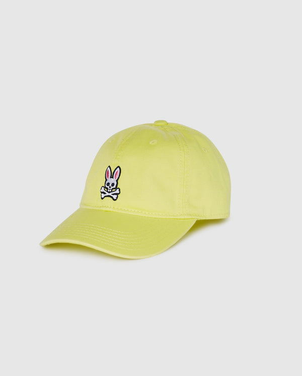 Psycho Bunny Men's Baseball Cap - Lemon Tonic