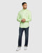 Psycho Bunny Men's Anniston Long Sleeve Shirt - Neon Lime