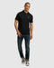 Psycho Bunny Men's Classic Polo - Black