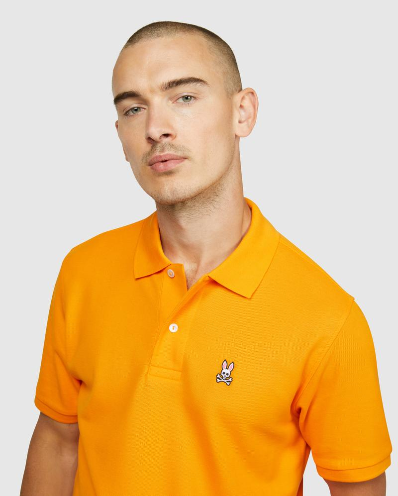 Psycho Bunny Men's Classic Polo - Flange