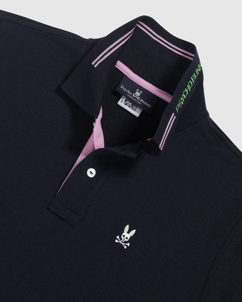 Psycho Bunny Men's Peveril Polo - Navy