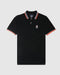 Psycho Bunny Men's Ashbourne Polo - Black