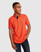 Psycho Bunny Men's Ashbourne Polo - Neon Flame