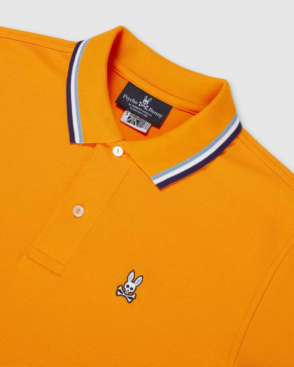 Psycho Bunny Men's Bower Polo - Flange