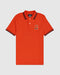 Psycho Bunny Men's Burlington Polo - Pimiento