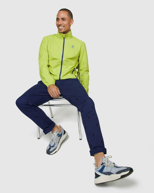 Psycho Bunny Men's Thornley Golf Jacket - Chartreuse
