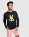 Psycho Bunny Men's Hatton Long Sleeve Tee - Navy