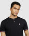 Psycho Bunny Men's Ridings Henley Tee - Black