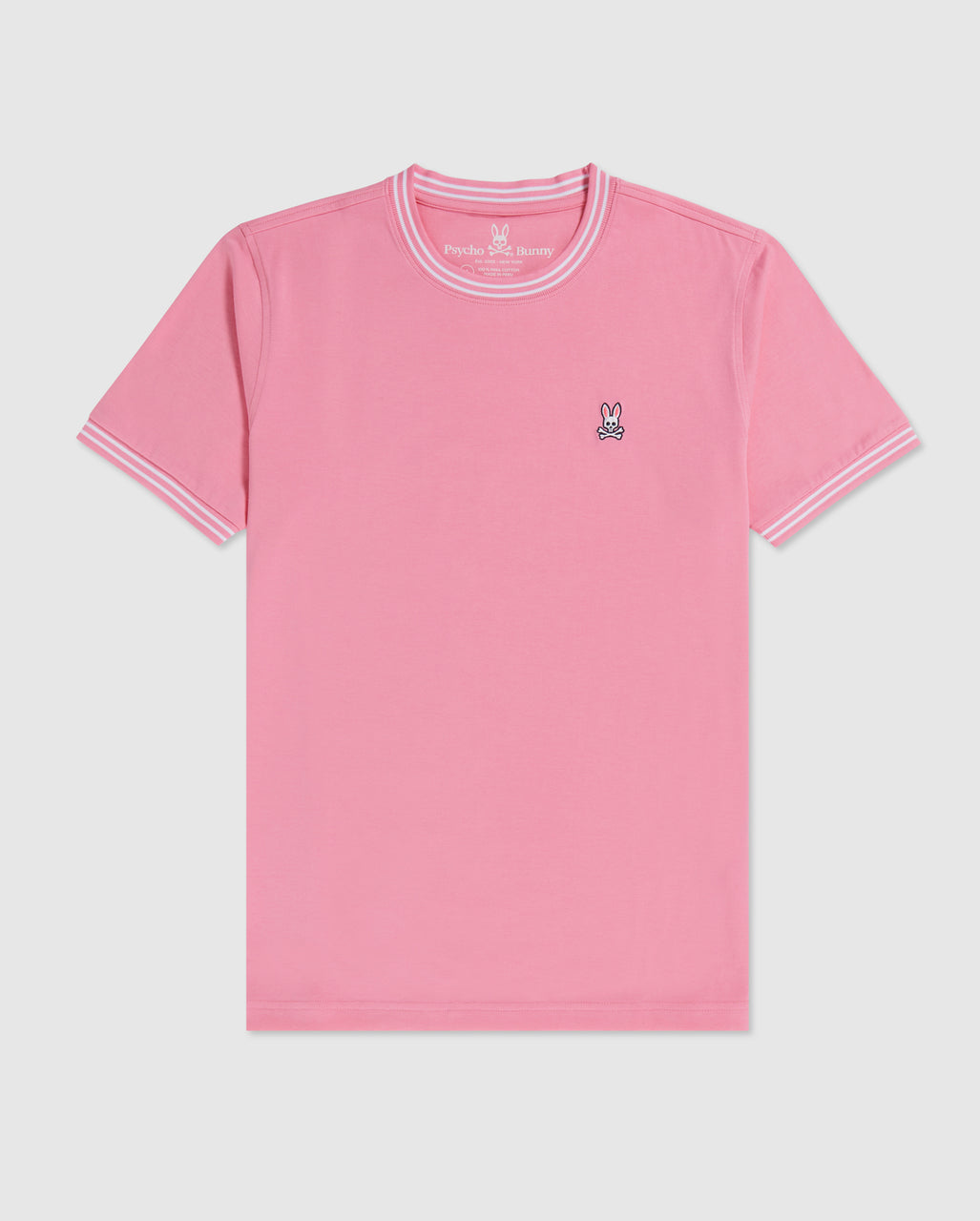 Psycho Bunny Men's Winslow Tee - Neon Flamingo