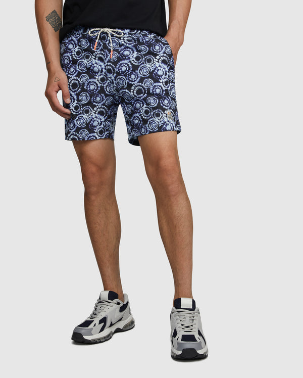 Psycho Bunny Men's Padstow Swim Trunks - Navy