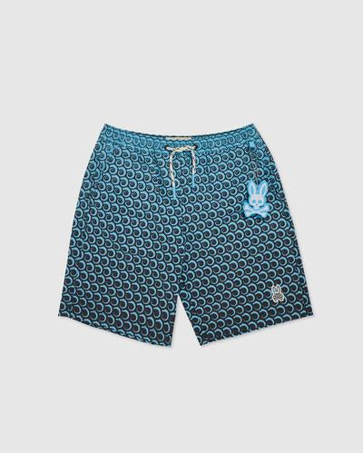 Psycho Bunny Men's Plockton Swim Trunks - Navy