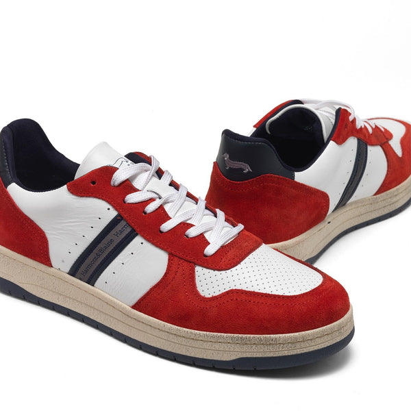 Harmont & Blaine Colorblock Sneaker - Red