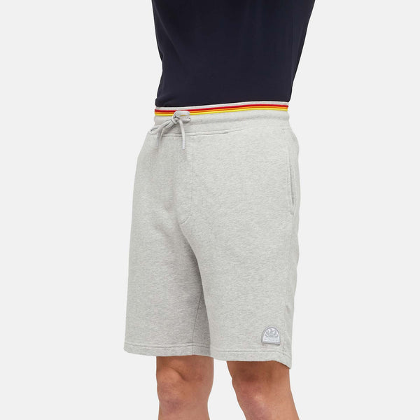 Sundek Men's Heritage Rainbow Walkshort - Grey Melange