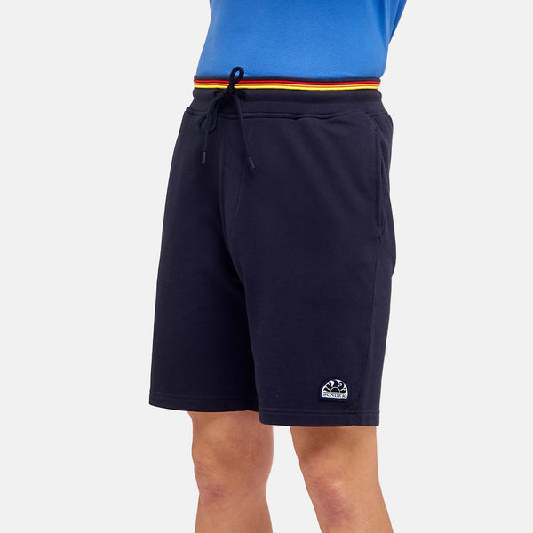 Sundek Men's Heritage Rainbow Walkshort - Vintage Navy