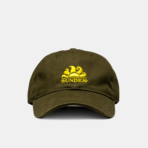 Sundek Cooper Baseball Cap - Dark Army Green