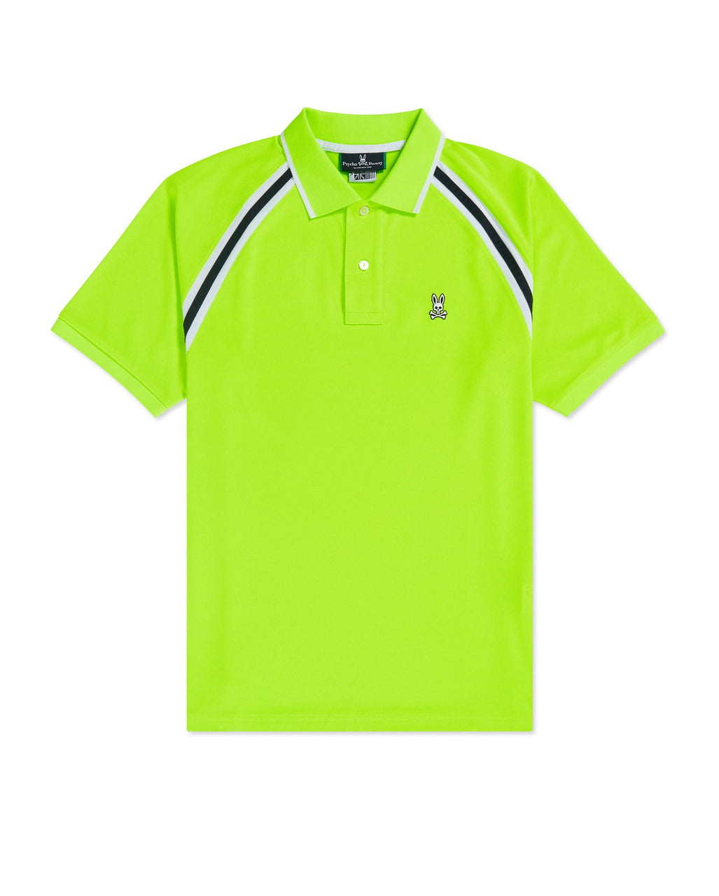 Psycho Bunny Men's Tapton Sport Polo - Electric Lime