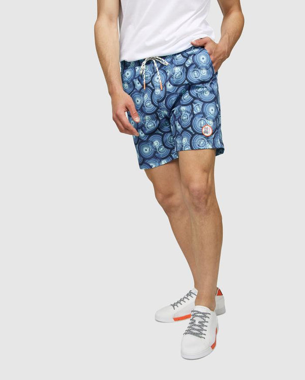 Psycho Bunny Men's Kopervik Swim Trunks - Regatta