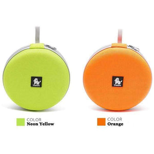 Treat Jungle Orange Foldable Traveling Pet Bowl 24337674-orange-1-pcs