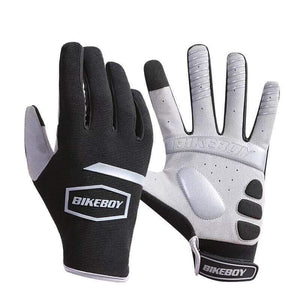 TreatJungle Black / M Full Protection Cycling Gloves 20929181-black-m