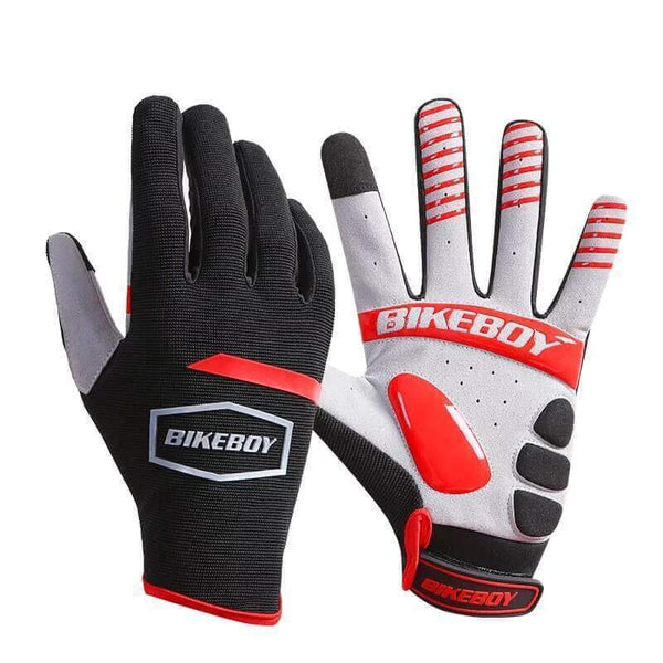 TreatJungle Red / M Full Protection Cycling Gloves 20929181-red-m