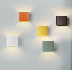 Rubik's Wall Lamps