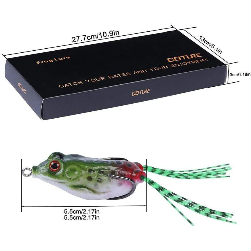 Silicone Frog Lure