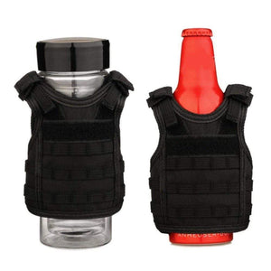 Treat Jungle Black Tactical Vest Beverage Cooler 19499963-black