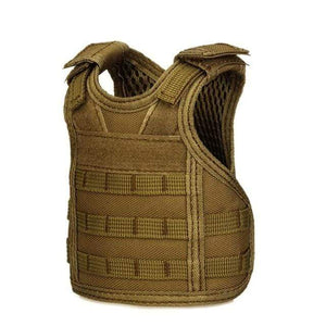 Treat Jungle Brown Tactical Vest Beverage Cooler 19499963-brown