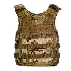 Treat Jungle Desert Camouflage Tactical Vest Beverage Cooler 19499963-desert-camouflage