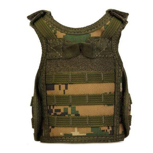 Treat Jungle Jungle Camouflage Tactical Vest Beverage Cooler 19499963-jungle-camouflage