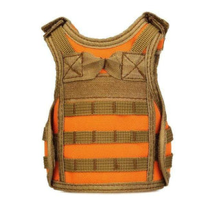 Treat Jungle Orange Tactical Vest Beverage Cooler 19499963-orange