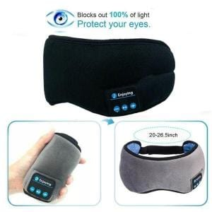 Bluetooth Eye Mask Black