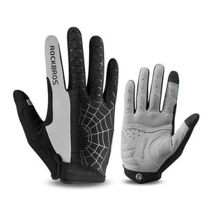 TreatJungle Spider 1 gray / L Windproof Touch Screen Cycling Gloves 8359333-spider-1-gray-l