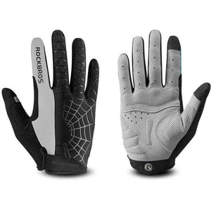 TreatJungle Spider 2 black / L Windproof Touch Screen Cycling Gloves 8359333-spider-2-black-l