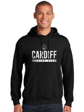 Load image into Gallery viewer, Cardiff Black Regular Hoodie Sweatshirt
