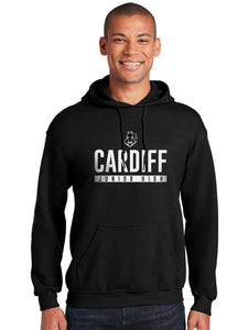 Cardiff Black Regular Hoodie Sweatshirt