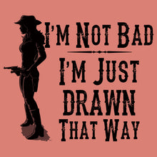 Load image into Gallery viewer, Cowgirl shirt v neck women shirt