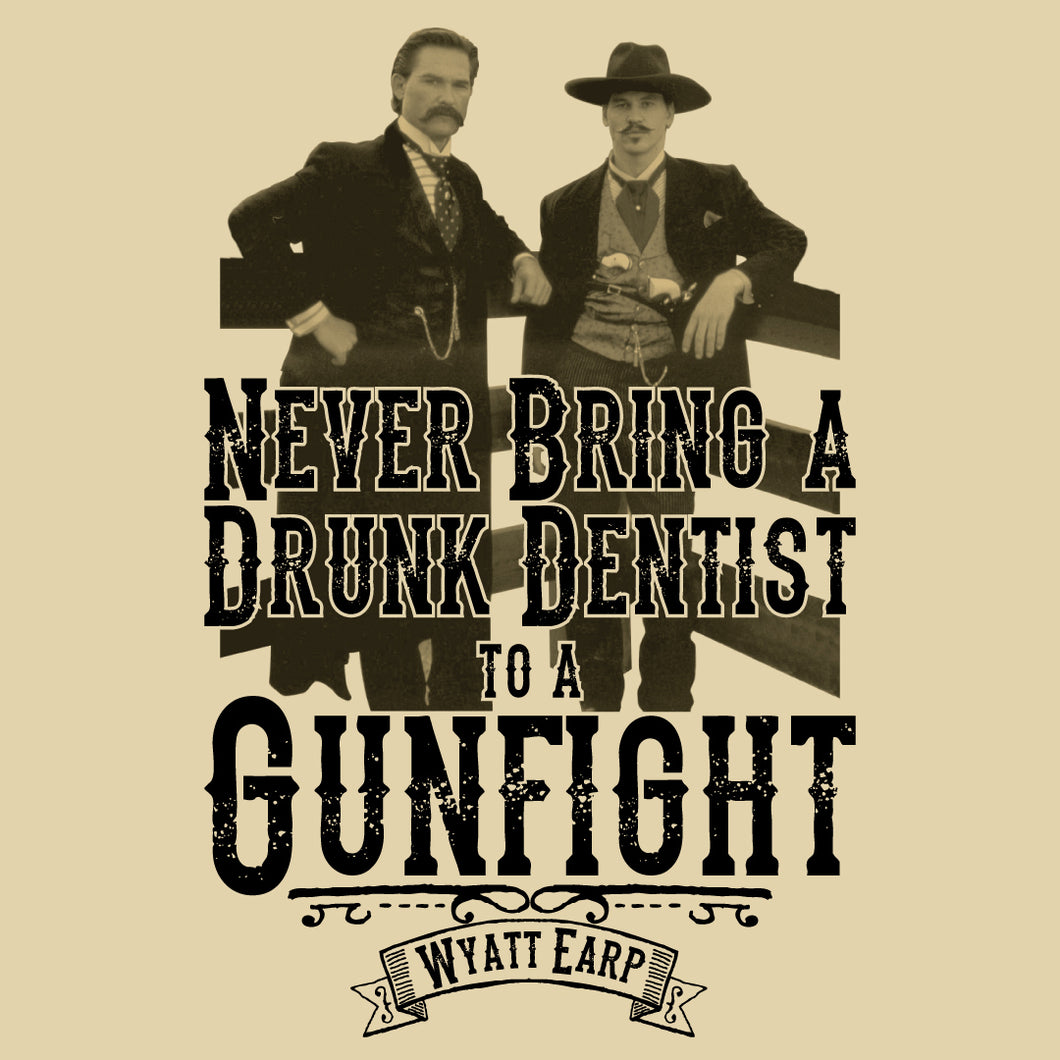 Tombstone Drunk Dentist Shirt