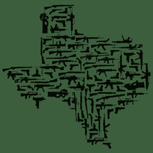Load image into Gallery viewer, Texas Gun State Shirt AR15 AK47 1911 Glock