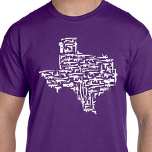Load image into Gallery viewer, Purple Texas Gun State